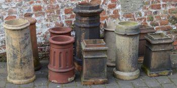 Quantity of chimney pots