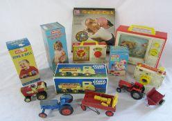 Assorted vintage toys inc Merit