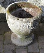 Concrete urn