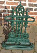 Cast Victorian style stick/umbrella stand