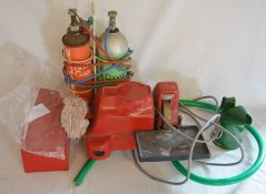 Shanti polisher grinder, mini blow torch & a small oil can