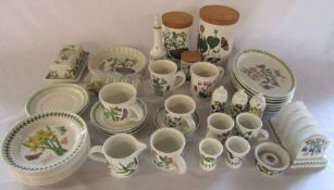 Quantity of Portmeirion Botanic Garden tableware
