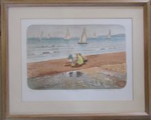 Mary Beresford Williams (b.1931) (Cornish School) limited edition lithographic print 38/70 of a