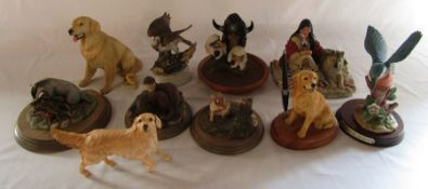 Selection of animal figures inc Royal Doulton