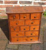 Small pine spice cabinet