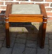 1930s Art Deco 'Ministool' piano stool