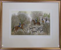Vincent Haddelsey (1934-2010) Limited edition French Artist's proof 9/45 lithographic print of a