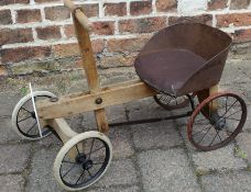 Child's lever drive quad cycle c1900 / 1920