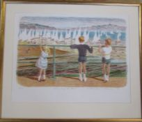 Mary Beresford Williams (born.1931) (Cornish School) Limited edition lithographic print 53/55 titled