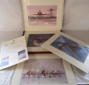 The Red Arrows: 40 years of Excellence boxed series of unframed prints of the Red Arrows by