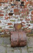 Cast & wrought iron garden roller