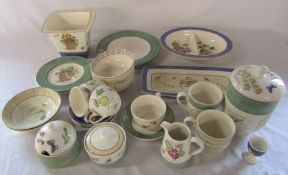 Quantity of Wedgwood 'Sarah's Garden' ceramics