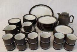 Quantity of Hornsea Lancaster Vitramic tableware