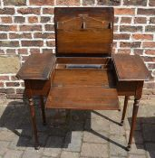 Early 20th century fold out desk - The Britisher desk