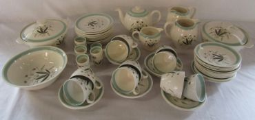 2 boxes of Alfred Meakin 'Hedgerow' part dinner / tea service - sample shown (2 cups and a saucer