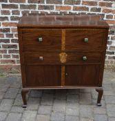 'Heirloom furniture' inlaid cabinet