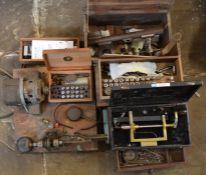 Various watch & clock repairers' tools