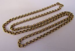 9ct gold necklace length 46 cm weight 6.2 g