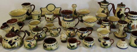 Quantity of Devon motto ware