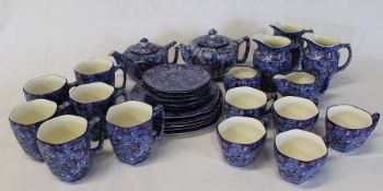 Approximately 30 pieces of Ringtons chintz tableware (1 cup damaged)