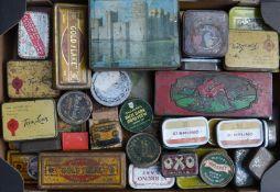 Quantity of vintage tins