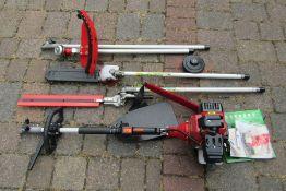 Trueshopping gardening 5 in 1 petrol multi tool