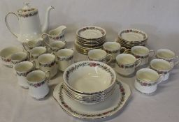 Paragon Belinda part tea / breakfast service (some marked seconds) approx. 57 pieces