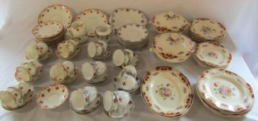 Selection of part tea sets inc Stanley & Clifton & Wedgwood part dinner service