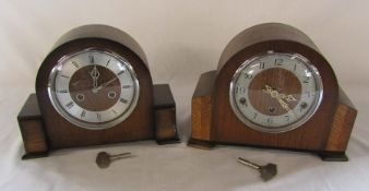 2 mantel clocks - Enfield and Smiths