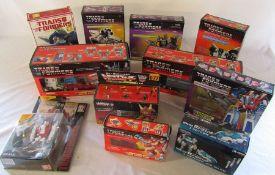 Quantity of boxed Transformer figures inc Optimus Prime, Ultra Magnus & Starscream