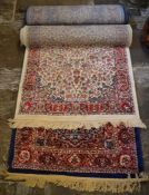 2 Persian runners 80cm by 300cm