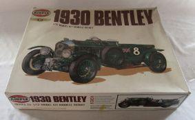 Airfix Series 20 1930 Bentley 1/12 model kit