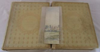 2 volumes of James Orrock RI - Painter, Connoisseur and Collector by Byron Webber (limited edition