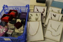 Large selection of costume jewellery