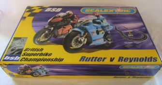 Scaletrix BSB British Superbikes Championship Rutter v Reynolds set
