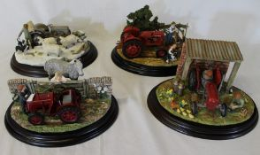 "Country Artists ""Four Seasons"" - four limited edition models comprising Spring Clean, Summer Days,"