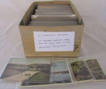 Box of approximately 400 topographical postcards dating from the early 1900s onwards