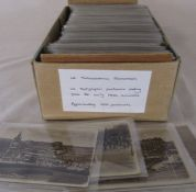 Box of approximately 400 UK topographical postcards dating from the early 1900s onwards