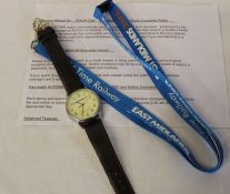 East Midlands Trains Track-Time Radio Controlled Watch (automatically synchronises to the UK time