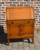 Early 20th century oak bureau