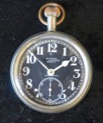 30 hour Air Ministry 15 jewel Non-luminous Mark V Electapocket watch