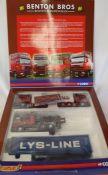 Corgi limited edition Benton Bros Boston & Immingham truck set CC99173