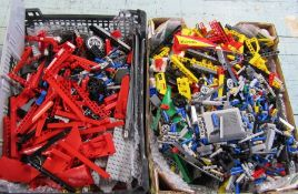 2 trays of assorted Lego