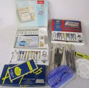 Various artists equipment inc oil, acrylic and watercolour paint sets