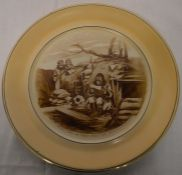 Bairnsfather plate 'What time do they feed the sea-lions, Alf' Grimwades 1917