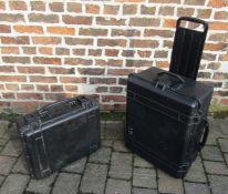 2 specialist protector cases inc Peli 1610 case
