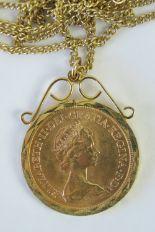 Lot 310 - A 22ct gold Elizabeth II 1978 full sovereign, 8g,