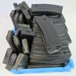 Lot 6 - A quantity of current issue British Military SA80 rifle magazines, fifty items.