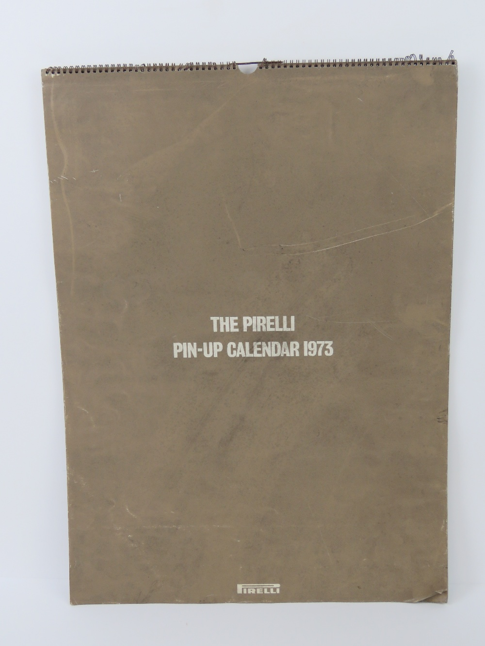 Lot 30 - A rare copy of the Pirelli Pin-Up calend