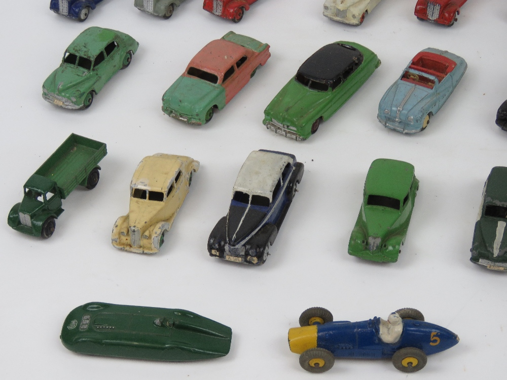 Lot 56 - Dinky Toys - Motor cars & Vehicles; A gr